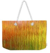 Autumn Fire Abstract Weekender Tote Bag