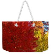 Autumn Fire  In  Red  And  Gold Weekender Tote Bag