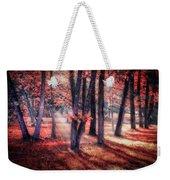 Autumn Firelight Weekender Tote Bag