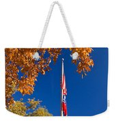 Autumn Flag Weekender Tote Bag
