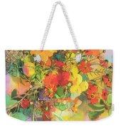 Autumn Flowers  Weekender Tote Bag