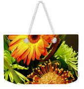 Autumn Flower Arrangement Weekender Tote Bag