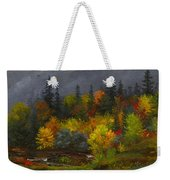 Autumn Foliage Weekender Tote Bag