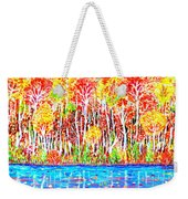 Autumn Foliage Weekender Tote Bag
