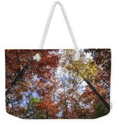 Autumn Forest Canopy Weekender Tote Bag