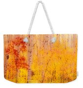 Autumn Forest Wbirch Trees Canada Weekender Tote Bag