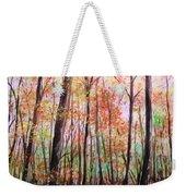 Autumn Forrest Weekender Tote Bag