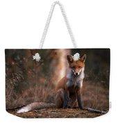 Autumn Fox Weekender Tote Bag