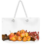 Autumn Friuts And Leaves Weekender Tote Bag