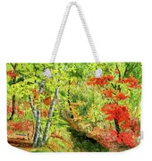 Autumn Fun Weekender Tote Bag