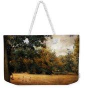 Autumn Geese Weekender Tote Bag