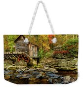 Autumn Glade Creek Grist Mill  Weekender Tote Bag
