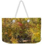 Autumn Glory - Unami Creek Sumneytown Pennsylvania Usa Weekender Tote Bag