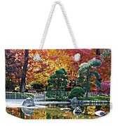 Autumn Glow In Manito Park Weekender Tote Bag