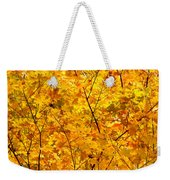 Autumn Gold Photograph Weekender Tote Bag