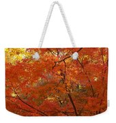 Autumn Gold Poster Weekender Tote Bag