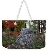 Autumn Gone-by Weekender Tote Bag