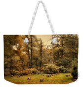 Autumn Grazing Weekender Tote Bag