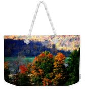 Autumn Hedgerow Weekender Tote Bag