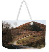 Autumn Hill Near Hancock Maryland Weekender Tote Bag