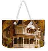 Autumn House Weekender Tote Bag