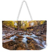 Autumn In American Fork Canyon Weekender Tote Bag