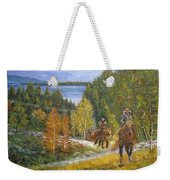 Autumn In Big Bear, 18x24, Oil, '08 Weekender Tote Bag