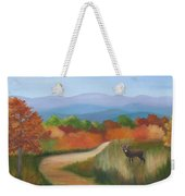 Autumn In Blue Ridge Mountains Virginia Weekender Tote Bag