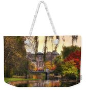 Autumn In Boston Garden Weekender Tote Bag