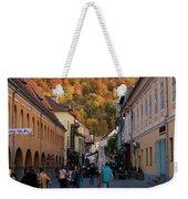 Autumn In Brasov Weekender Tote Bag