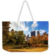 Autumn In Central Park Weekender Tote Bag