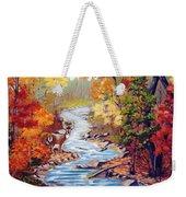 Autumn In Cunningham Park  Weekender Tote Bag
