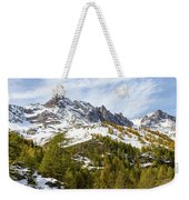 Autumn In French Alps - 18 Weekender Tote Bag