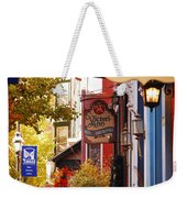 Autumn In Jim Thorpe Weekender Tote Bag