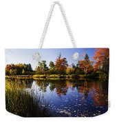 Autumn In Maine Usa Weekender Tote Bag