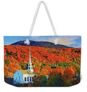 Autumn In New England - 04 Weekender Tote Bag