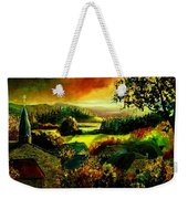 Autumn In Our Village Ardennes Weekender Tote Bag