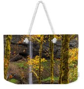 Autumn In Silver Falls Weekender Tote Bag