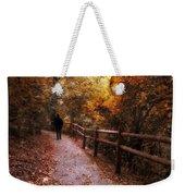 Autumn In Stride Weekender Tote Bag