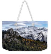 Autumn In Switzerland Weekender Tote Bag