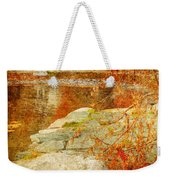 Autumn In The Gardens Weekender Tote Bag