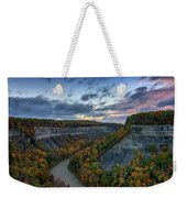 Autumn In The Gorge Weekender Tote Bag
