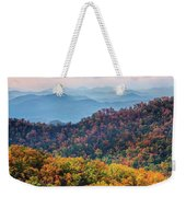 Autumn In The Great Smoky Mountains Weekender Tote Bag
