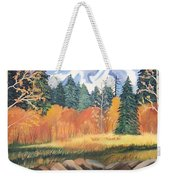 Autumn In The Mountans Weekender Tote Bag