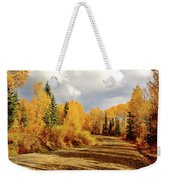 Autumn In The North Weekender Tote Bag