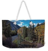 Autumn In The Rockies Weekender Tote Bag