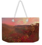 Autumn In The Rolling Hills Weekender Tote Bag
