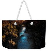 Autumn In The Tributary Weekender Tote Bag