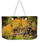 Autumn In The Uinta Mountains Weekender Tote Bag