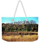 Autumn In The Wetlands Weekender Tote Bag